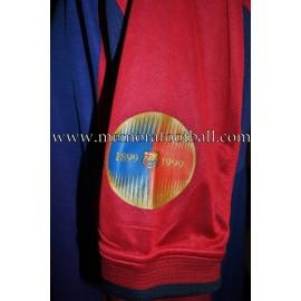 """TRASHORRAS"" FC Barcelona LFP 2000-2001 match worn shirt"