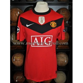 """ROONEY"" 2009-10 Manchester United Champions League match unworn shirt"