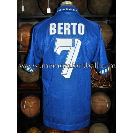 """BERTO"" Real Oviedo LFP 1995-96 match worn shirt"