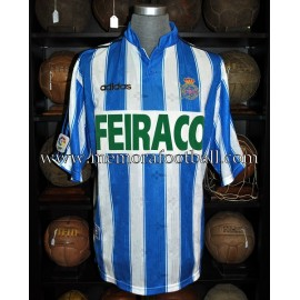 """""""RAMIS"""" Deportivo de la Coruña 1997-98 match worn shirt"""