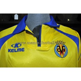 """""""GERARDO"""" Villareal CF LFP 1999-00 match worn shirt"""