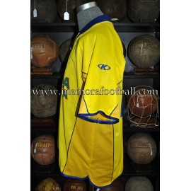"""""""VÍCTOR"""" Villareal CF LFP 2001-02 match worn shirt"""
