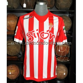 Sporting de Gijón nº28 2012-13 pre-season match worn shirt