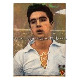 """""""CAMPANAL"""" Sevilla CF 1950-52 card"""