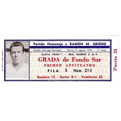 "Real Madrid CF vs Slavia Prague 1976 ""Grosso Testimonial Match"""