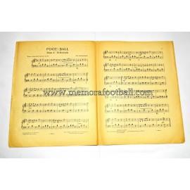 "Partitura para piano de ""FOOT-BALL"" 1923 CH. Schumann"