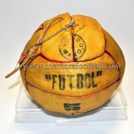 """Balón """"FUTBOL"""" 12 paneles 1950´s España"""