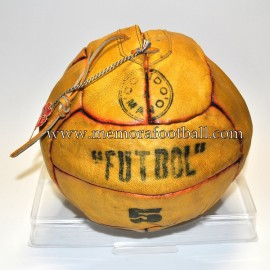 """FUTBOL"" 12 Panels Ball 1950´s Spain"