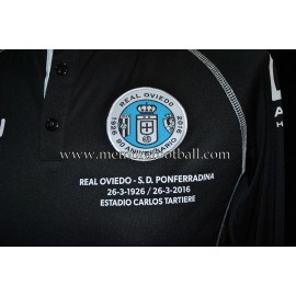 """HÉCTOR FONT"" Real Oviedo vs Ponferradina 23-03-2016 match worn"