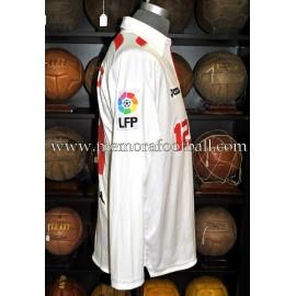 """NEGREDO"" Sevilla FC LFP 2009-10 match worn shirt"