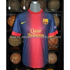 """CESC FÁBREGAS"" FC Barcelona Champions League 2012-2013 signed match worn shirt"