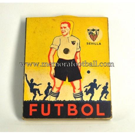 Lápices de colores del Sevilla CF 1940s