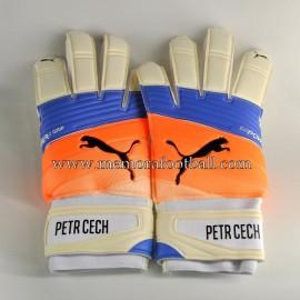"""PETR CECH"" 2016-17 Arsenal FC signed match unworn gloves"