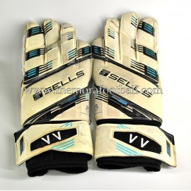 """VÍCTOR VALDÉS"" 2014-15 Manchester United match worn gloves"