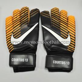 """""""THIBAUT COURTOIS"""" 2017-18 Chelsea FC match unworn gloves"""