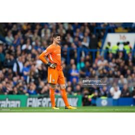 """Guantes originales de """"THIBAUT COURTOIS"""" Chelsea FC 2017-18"""