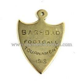 1918 BAGHDAD (Iraq) Football Tournament medal