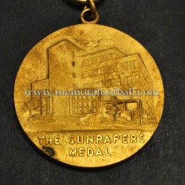 1954 The Sunpapers Medal for amateur soccer