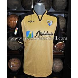 """""""WANCHOPE"""" Malaga CF LFP 2004-05 match worn shirt"""