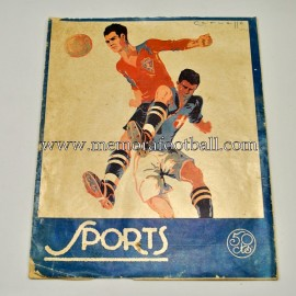 """SPORTS"" Spanish Magazine 18 March 1924"