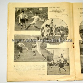 """SPORTS"" Spanish Magazine 18 March 1924"