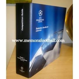 2008/2009 UEFA Champions League Libro de Estadísticas Oficiales