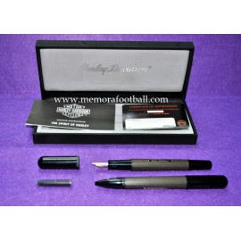 1990s Harley-Davidson fountain pen and ballpoint (Spanish Football Association Professional)