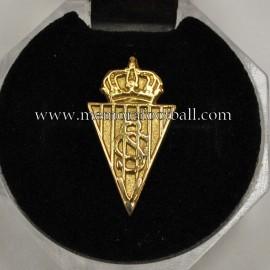 Insignia de oro de la Asociación de Veteranos del Sporting de Gijón , 1990s