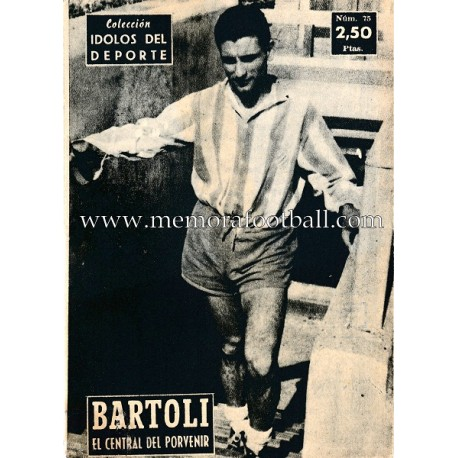 """BARTOLI"" Idolos del Deporte  (1959)"