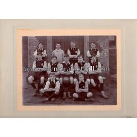 Football junior team unidentified, 1910