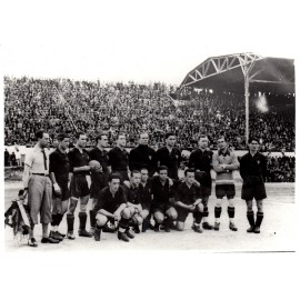 Spain National Team 30-04-1933 vs Yugoslavia