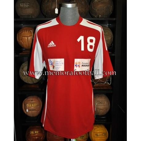 """Osvaldo"" Partido por la ilusion - Futbol 7 solidario  23-12-2010 match worn shirt"