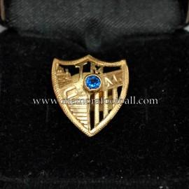 Insignia de Oro y Brillante del CD Málaga, años 80