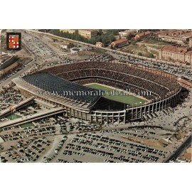 Nou Camp Stadium (FC Barcelona) 1960S postcard