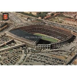Nou Camp Stadium (FC Barcelona) 1960S postcard