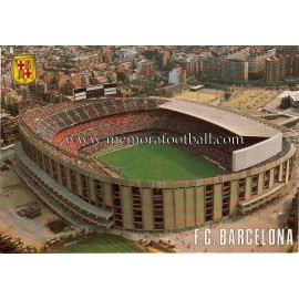 Camp Nou Stadium (FC Barcelona) 1970s postcard