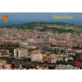 Tarjeta postal Estadio Camp Nou (FC Barcelona) 1990s