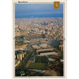 Camp Nou Stadium (FC Barcelona) 1990s postcard