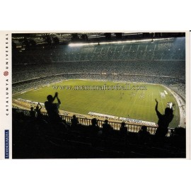 Camp Nou Stadium (FC Barcelona) 1980s postcard