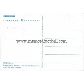 Tarjeta postal Estadio Camp Nou (FC Barcelona) 1980s