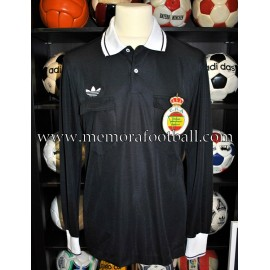 """ANDUJAR OLIVER"" spanish referee 1980s match worn shirt"