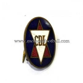Antigua insignia esmaltada del CD Logroñés (España)