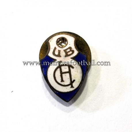 Antigua insignia esmaltada del equipo de fútbol (España)