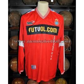 """LOPO"" RCD Espanyol LFP 2000/2001 match worn shirt"