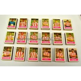 Colección de cajas de cerillas del Athletic Club, años 70