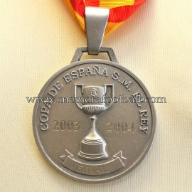 "Real Madrid ""Copa del Rey 2003-04""  medal"