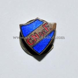 Antigua insignia esmaltada del Club Nacional de Fútbol (Uruguay)