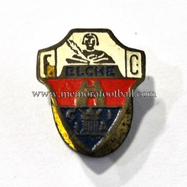 Old Elche FC (Spain) enameled badge