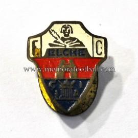 Old Elche FC (Spain) enameled badge