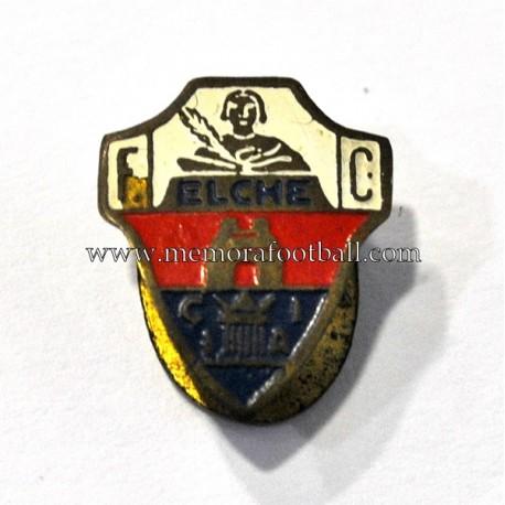 Antigua insignia esmaltada del Elche FC (España)